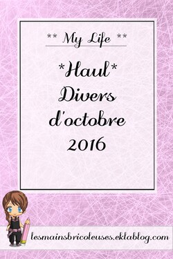 *Haul* Divers d'Octobre 2016