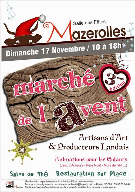 Marché de l'Avent 2013 de Mazerolles