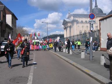 Rouen - 28 Avril 2016 - Une région Debout contre El Khomry