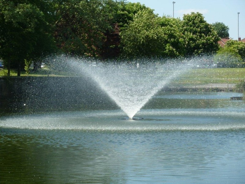 Jets d'eau à volonté ...de quoi vous rafraichir ...