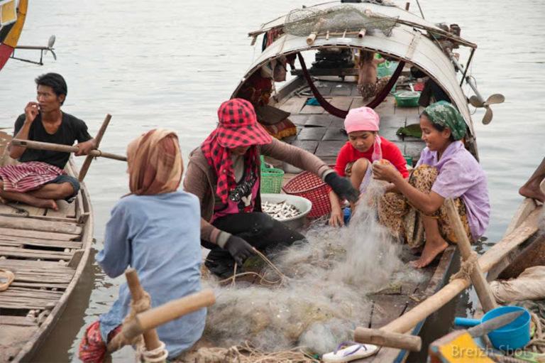 pêche à Kampong Cham