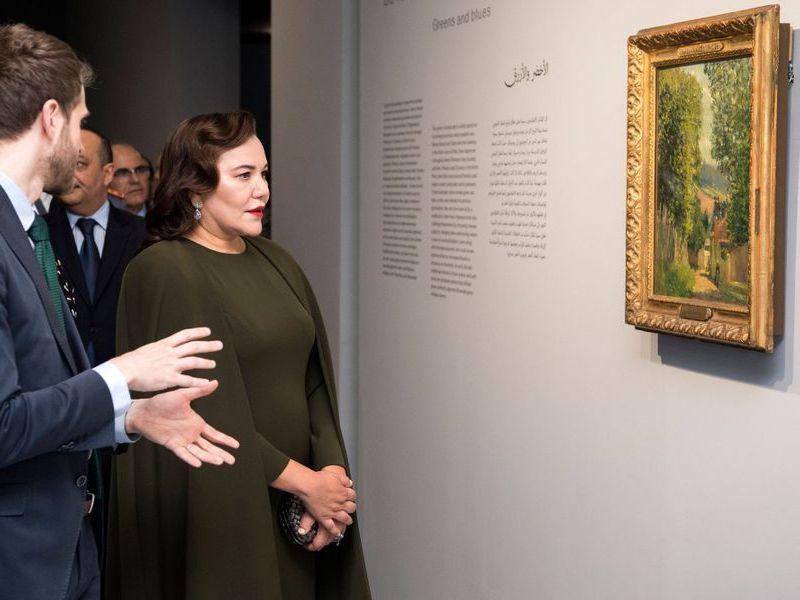 «Les couleurs de l'impressionnisme: chefs d'œuvre des collections du musée d'Orsay».