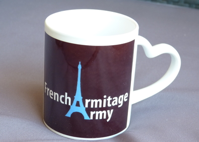 "Concours ""Keep Calm"" ! tasse french armitage army"