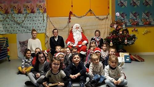 Le Père Noël en maternelle