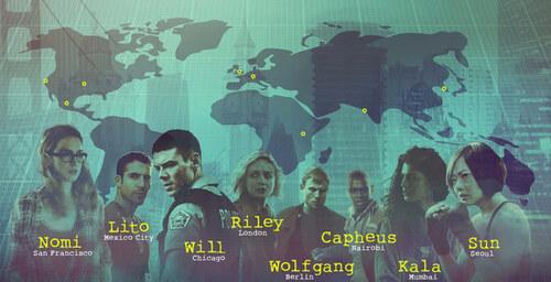 Sense8 de Lana et Lilly Wachowski et Joseph Michael Straczynski