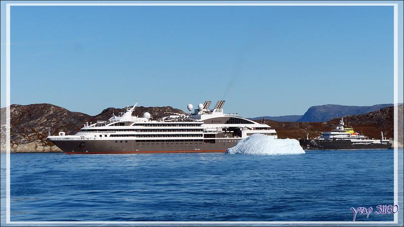 C'est parti pour la balade en bateau à l'Isfjord (Icefjord) - Ilulissat - Groenland