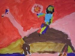 Nos premières peintures