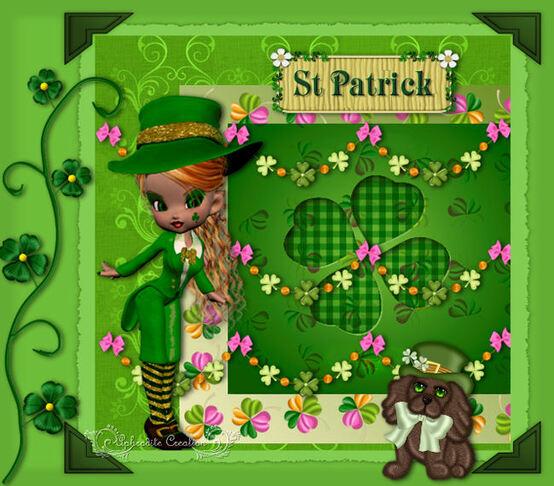 Les défis de Monia- Thème La Saint Patrick