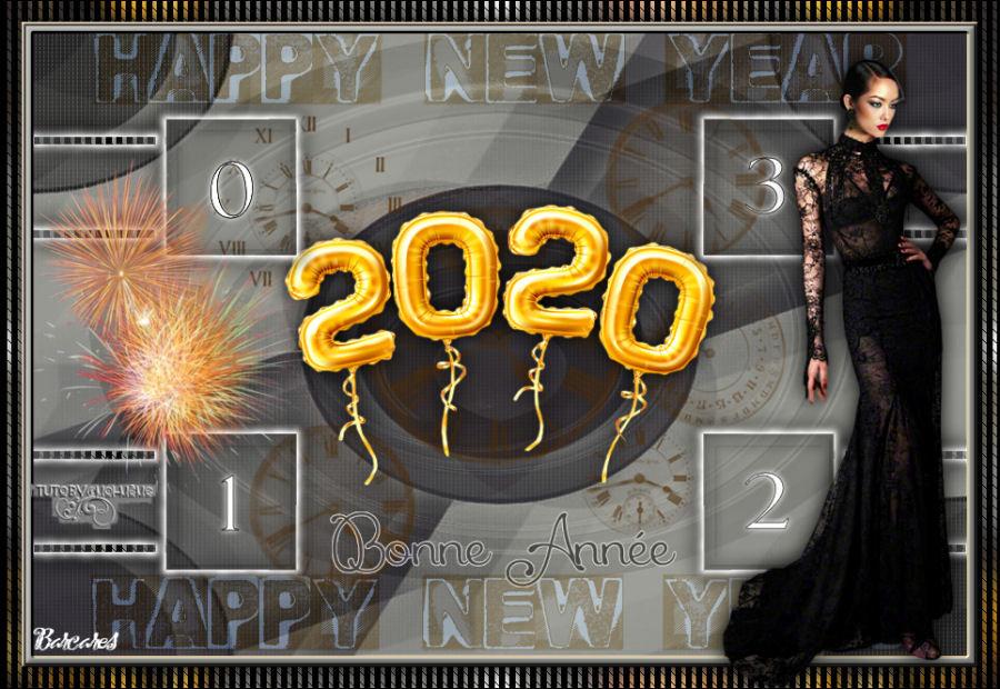 Happy New Year/ Bonne année 2020