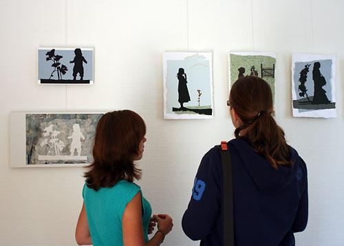 """""""Im Reich der Schatten und Pflanzen"""" Ausstellung im Juli 2012"""