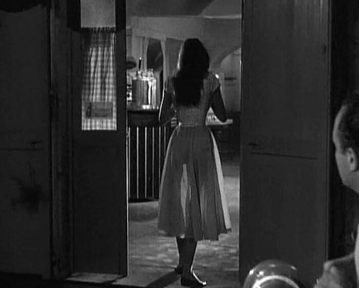 BRIGITTE BARDOT NUE - LA LUMIERE D'EN FACE - 1956