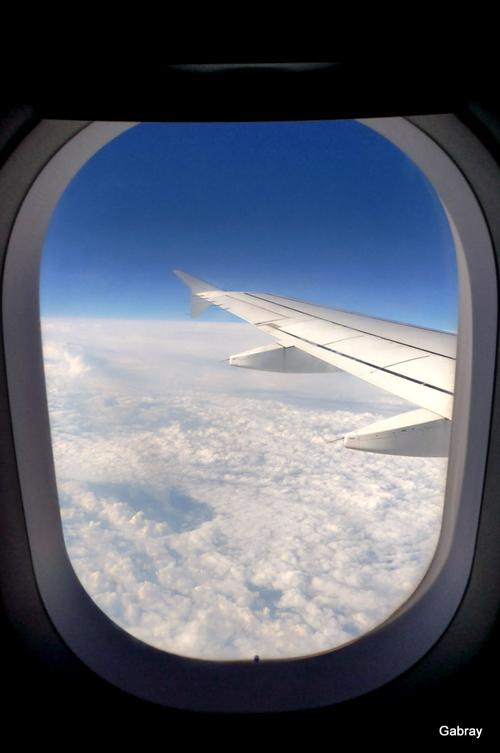 Toulouse – Naples en avion!