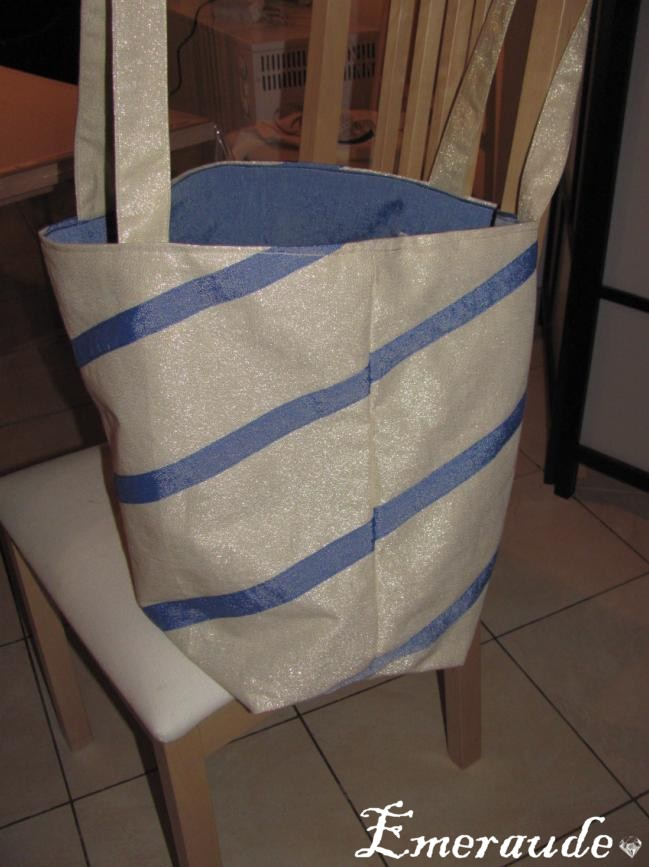 Couture: grand sac de plage