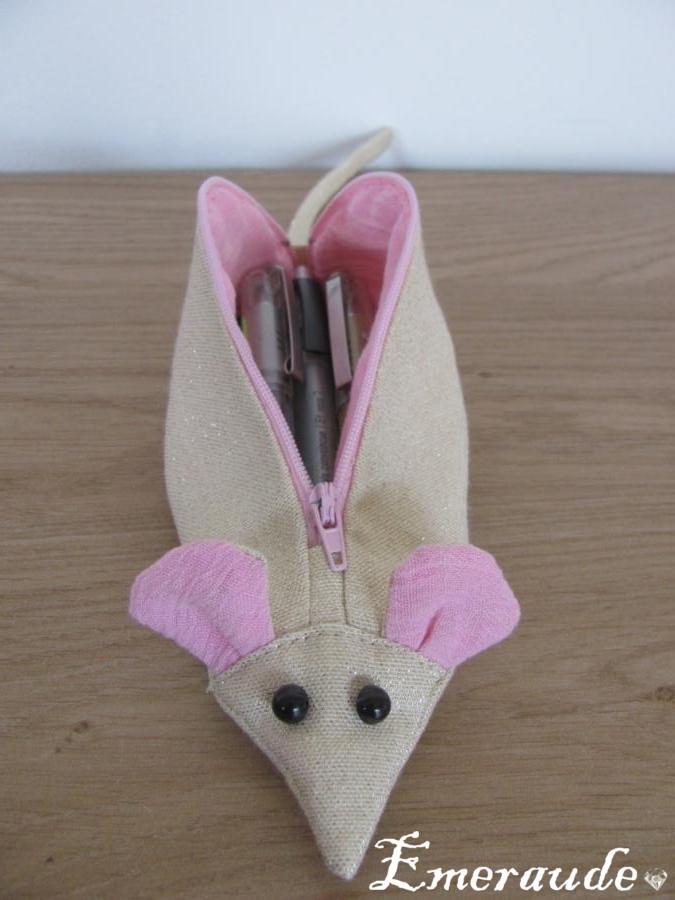 Couture: trousse rat