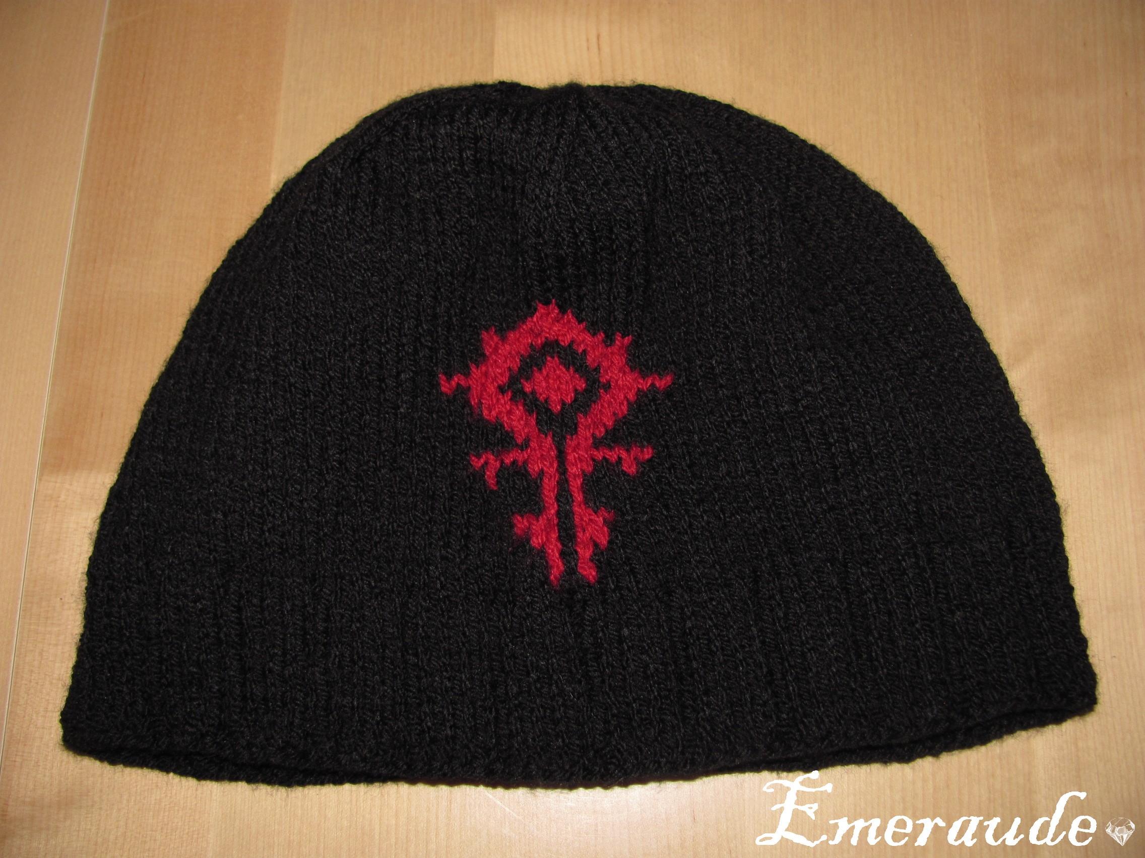 Tricot: bonnet Horde