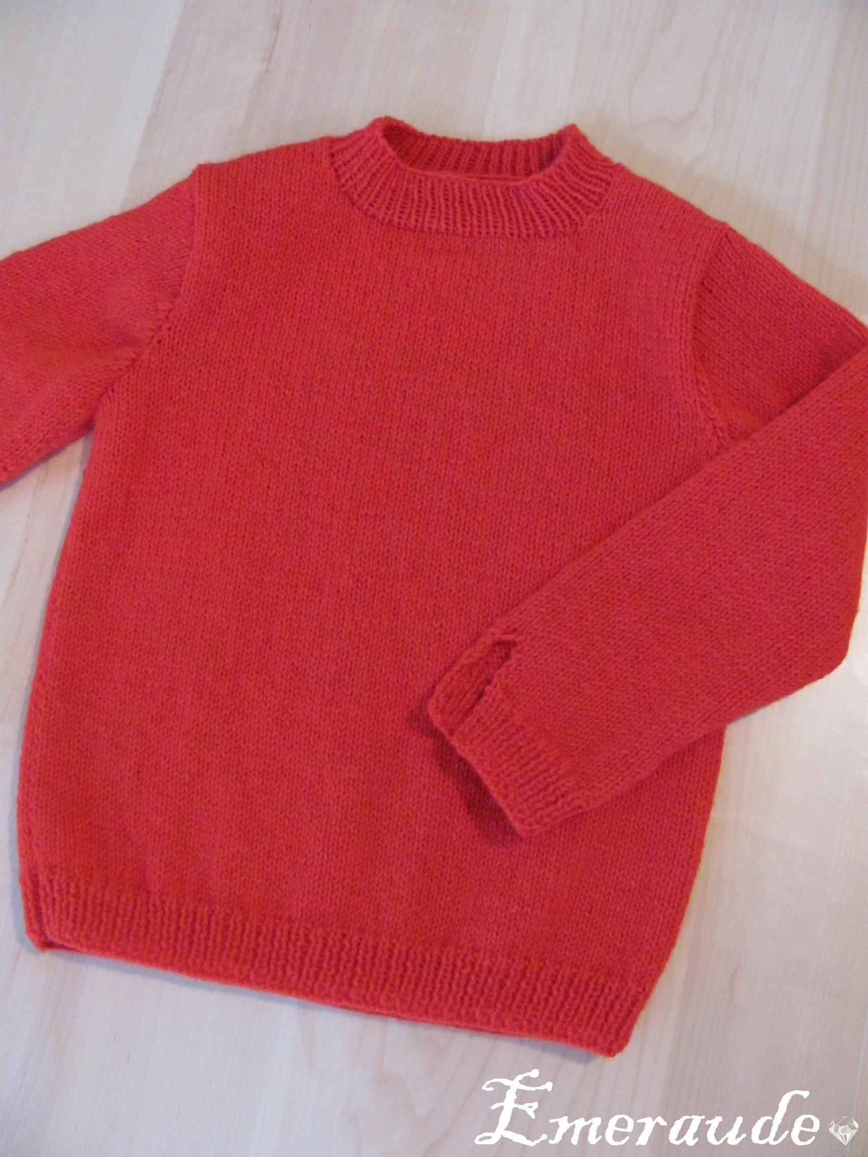 Tricot: pull enfant (1)