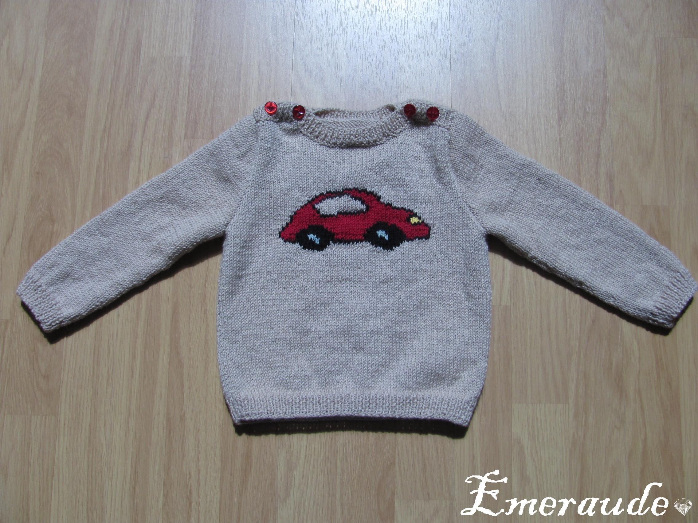 Tricot: pull enfant (2)