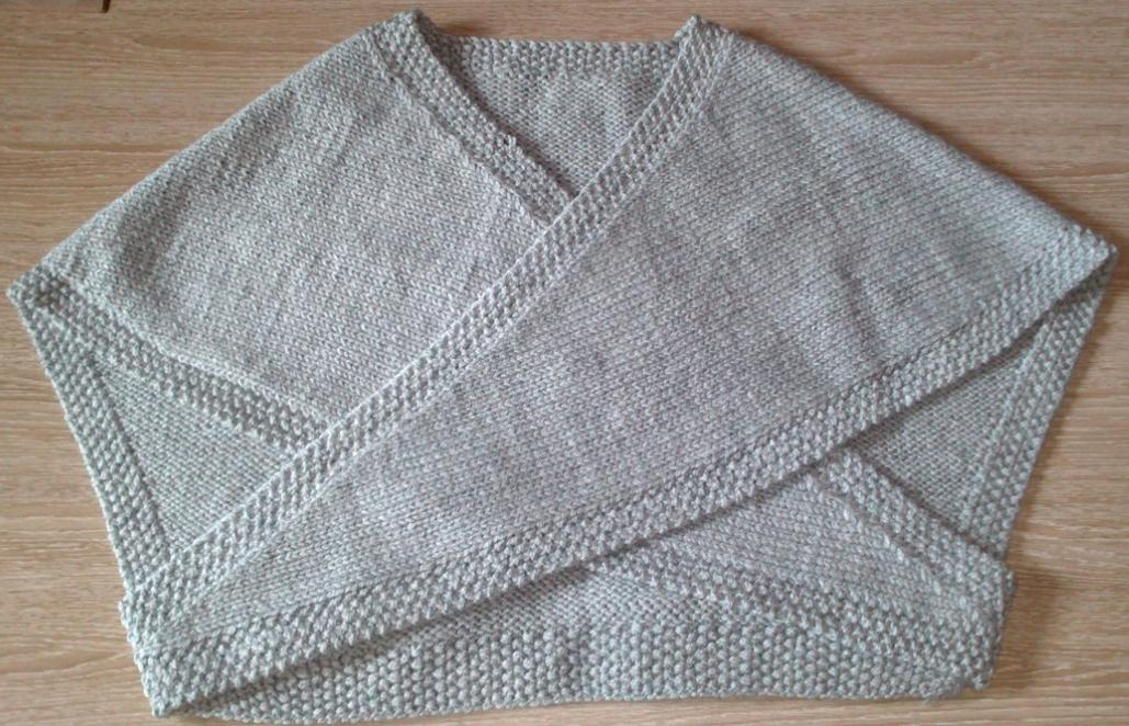 Kal tricot: cache-coeur adulte
