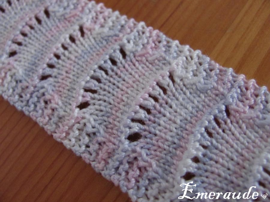 Tricot: marque page n°1