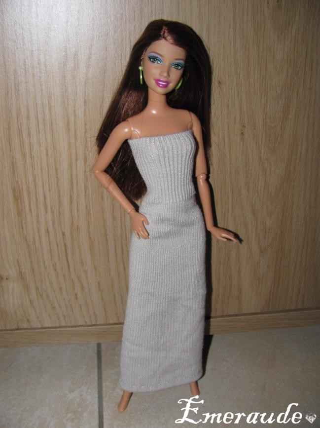 Couture: Robe n°1 pour Barbie