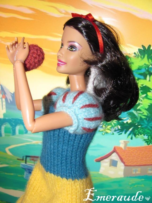Tricot: Robe de princesse Disney, Blanche-Neige