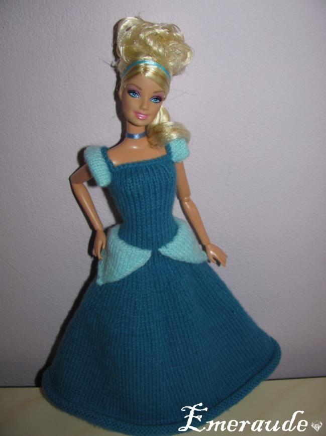 Tricot: Robe de princesse Disney, Cendrillon