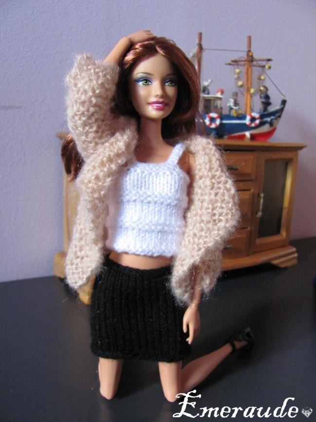 Tricot Barbie: Ensemble n°1 par les copinautes (2)