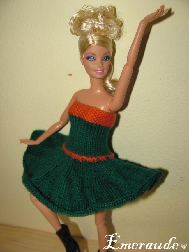 Tricot: Robe d'été n°3 pour Barbie
