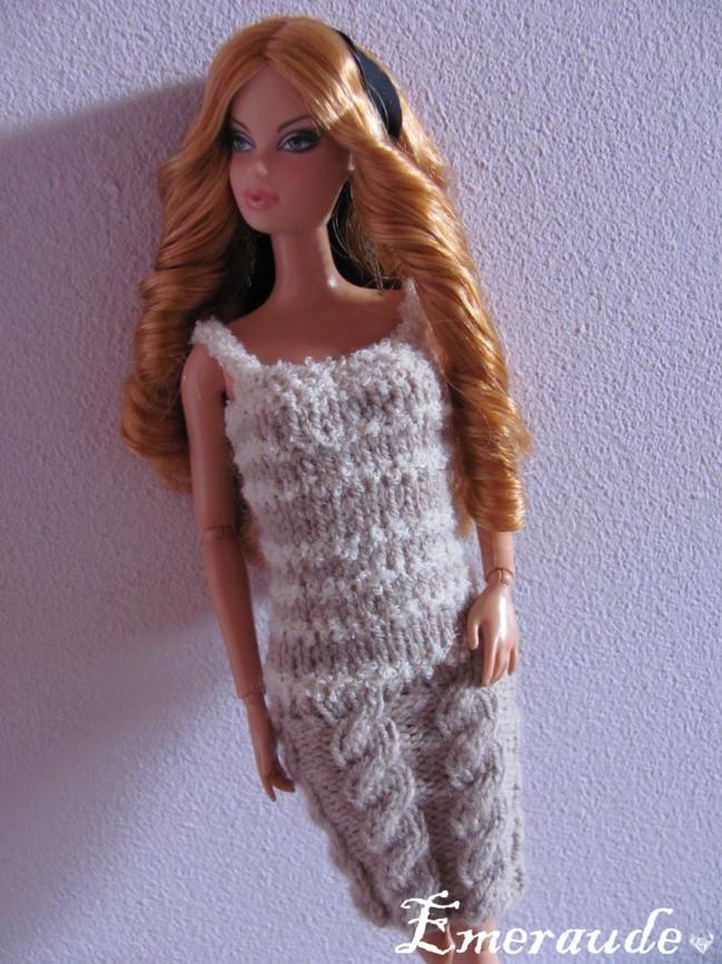 Tricot: Robe d'été n°9 pour Barbie