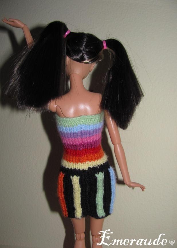 Tricot: Robe d'été n°14 pour Barbie