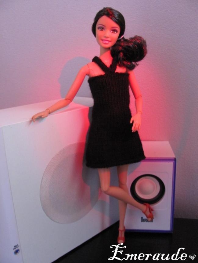 Tricot: Robe de soirée n°1 pour Barbie
