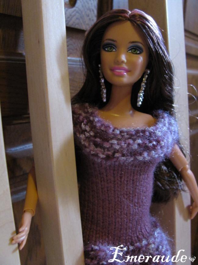 Tricot: Robe de soirée n°2 pour Barbie