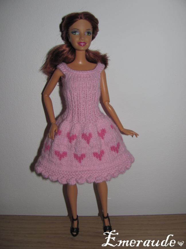 Tricot: Saint Valentin n°1 pour Barbie