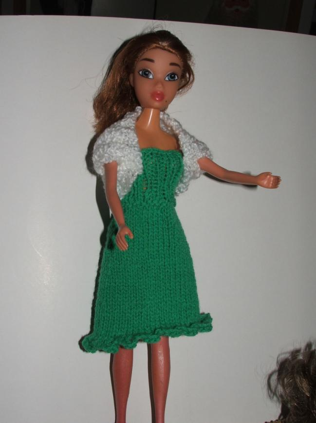 Tricot Barbie: Ensemble n°6 par les copinautes