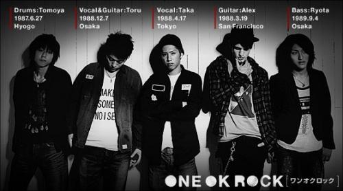 Le groupe one ok rock