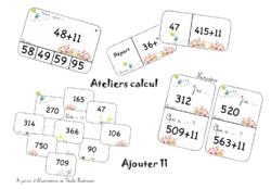 Ateliers de calcul mental - ajouter 11