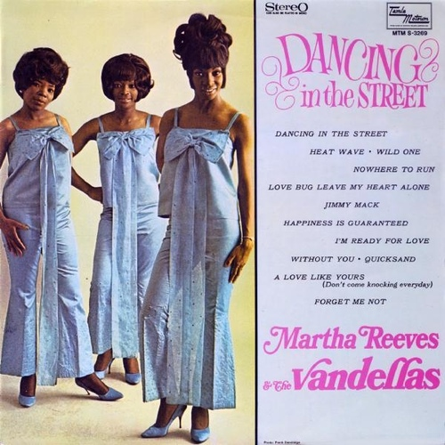 "Martha Reeves & The Vandellas : Album "" Dancing In The Street "" Tamla Motown Records 11099 [ UK ]"