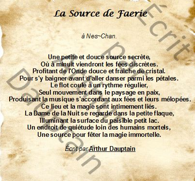 La Source de Faerie