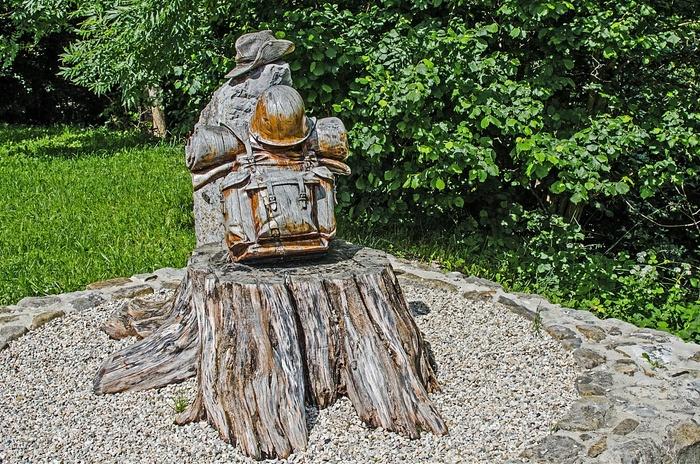 Mort en Algérie : une belle sculpture à Saint-Hugues-de-Chartreuse