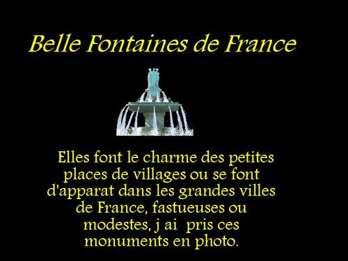 PPS MES CREATIONS fontaines de france