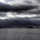 Gros grain en mer - Depuis la plage de l'Autre Bord (Trinité) - Photo : Yvon