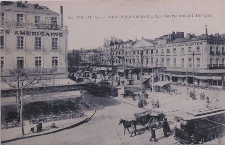 Les américains, brasserie à Toulouse