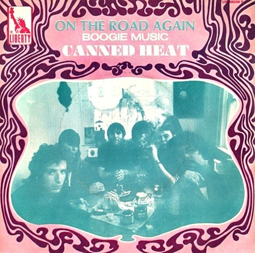 "Canned Heat : Album "" Boogie With Canned Heat "" Liberty Records LST-7541 [ US ]"