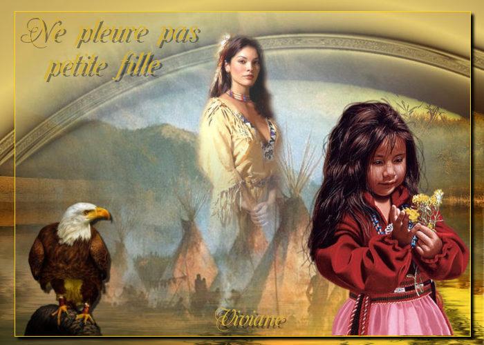 Ne pleure pas petite fille défi de Marjolaine