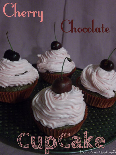 Cherry Chocolate CupCake