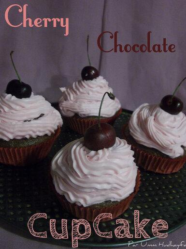 Cherry Chocolate CupCake