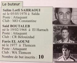 Buteurs 1999-2000