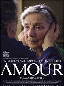 Amour - de Michael Haneke (2012) - avec J.L. Trintignant, E. Riva, I. Huppert
