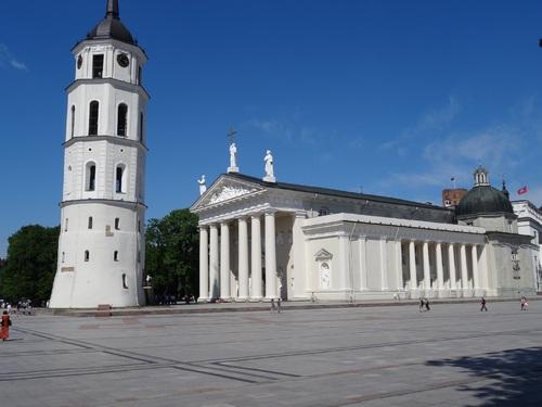 La cathédrale de Vilnius en Lituanie
