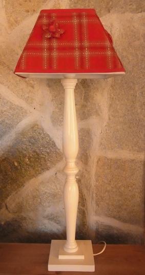 Grande lampe rouge